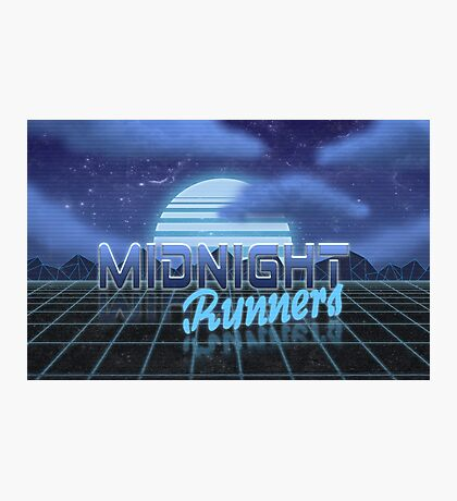Midnight Runner 1980s neo-design Photographic Print