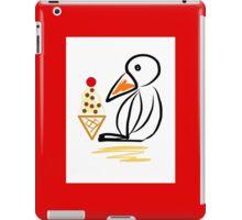 Penguin & ice cream iPad Case/Skin