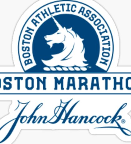 Boston Marathon Sticker