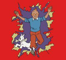 Tintin - Happy One Piece - Short Sleeve