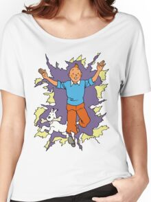 Tintin - Happy Women's Relaxed Fit T-Shirt