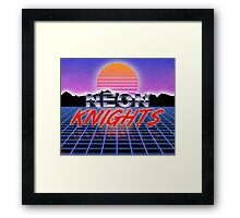 Neon Knights Framed Print
