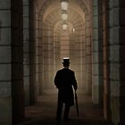 Evening walk in the archway by JBlaminsky