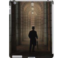 Evening walk in the archway iPad Case/Skin
