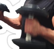 Zac Efron Work Out Sticker