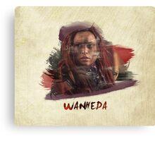 Wanheda - The 100 Canvas Print