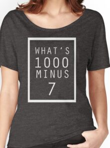 Tokyo Ghoul What's 1000 minus 7 Women's Relaxed Fit T-Shirt