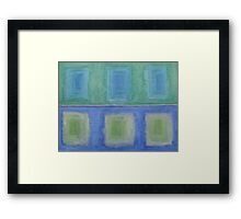 ABSTRACT 415 Framed Print