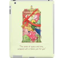 The best present in all of space and time iPad Case/Skin