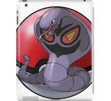 Arbok pokeball - pokemon iPad Case/Skin