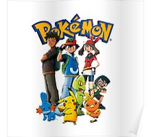 Ash with Friends Poster