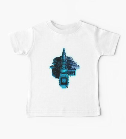 Leviathan BLUE Baby Tee