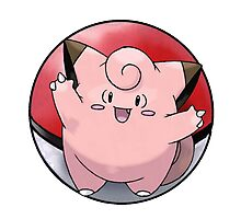 Clefairy Photographic Print