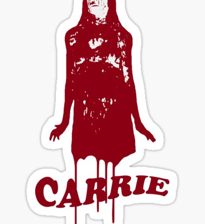 """Carrie"" Sticker"