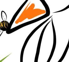 Penguin & bee Sticker