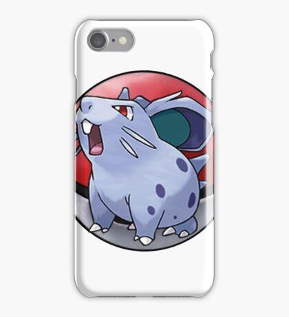 Nidoran (female) pokeball - pokemon iPhone Case/Skin