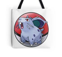 Nidoran (female) pokeball - pokemon Tote Bag