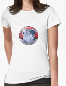 Nidoran (female) pokeball - pokemon Womens Fitted T-Shirt
