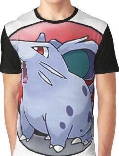 Nidoran (female) pokeball - pokemon Graphic T-Shirt