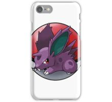 Nidoran (male) pokeball - pokemon iPhone Case/Skin