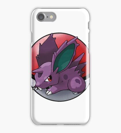Nidoran (male) pokeball - pokemon iPhone Case/Skin