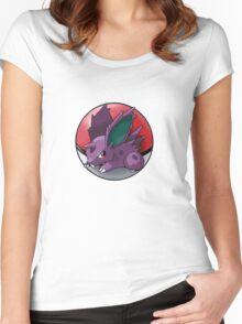 Nidoran (male) pokeball - pokemon Women's Fitted Scoop T-Shirt