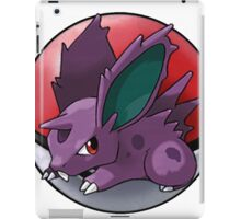 Nidoran (male) pokeball - pokemon iPad Case/Skin