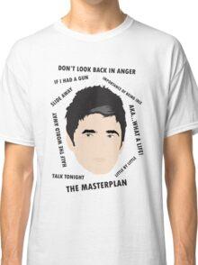 Noel Gallagher Oasis High Flying Birds Fan Art Unofficial  Classic T-Shirt