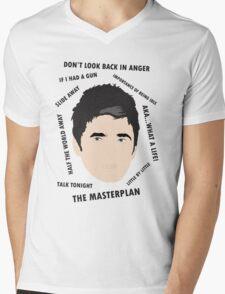 Noel Gallagher Oasis High Flying Birds Fan Art Unofficial  Mens V-Neck T-Shirt