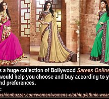 Be Alert Before To Go For Sarees Online by Brucefosters