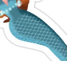 Necklace mermaid Sticker