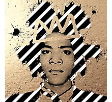 Gold Basquiat Photographic Print