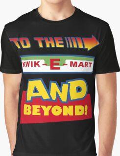 To The Kwik-E-Mart Graphic T-Shirt