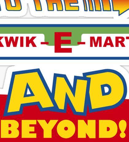 To The Kwik-E-Mart Sticker