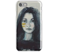 She Saw for the First Time iPhone Case/Skin