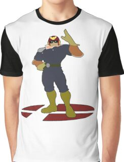 Captain Falcon - Super Smash Bros Melee Graphic T-Shirt