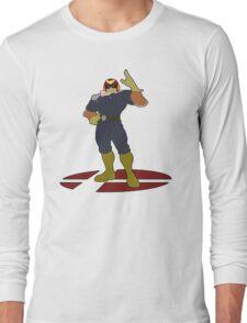 Captain Falcon - Super Smash Bros Melee Long Sleeve T-Shirt