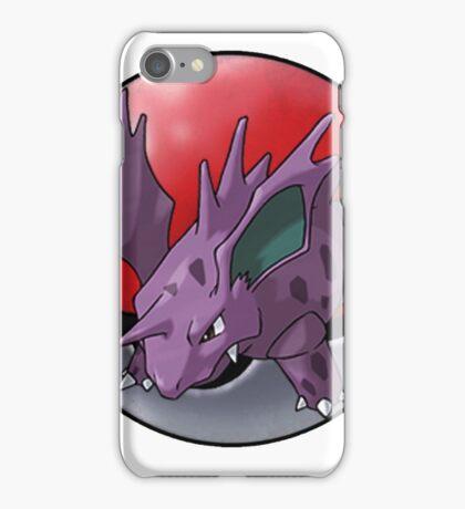 Nidorino pokeball - pokemon iPhone Case/Skin