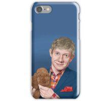 Martin Freeman with Puppy iPhone Case/Skin