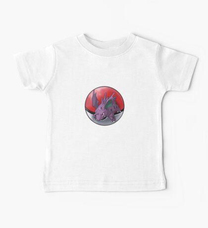 Nidorino pokeball - pokemon Baby Tee