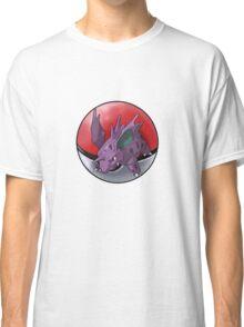 Nidorino pokeball - pokemon Classic T-Shirt