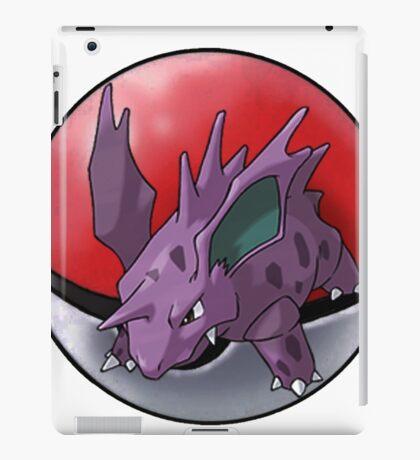 Nidorino pokeball - pokemon iPad Case/Skin