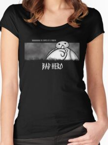 Bad Hero Women's Fitted Scoop T-Shirt