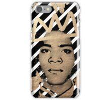 Gold Basquiat iPhone Case/Skin