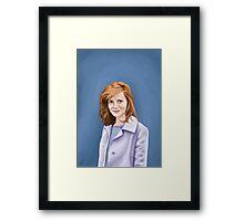 Louise Brealey Framed Print