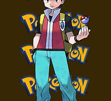 Red show pokeball - pokemon by pokofu13