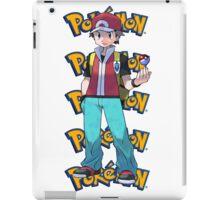 Red show pokeball - pokemon iPad Case/Skin