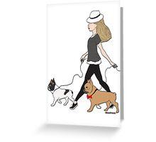 bella&beau Greeting Card
