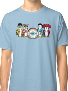 Sgt Poppers Penguin Marching Band Classic T-Shirt