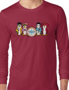 Sgt Poppers Penguin Marching Band Long Sleeve T-Shirt